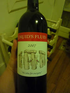 Druid's Fluid – A tasty red table wine