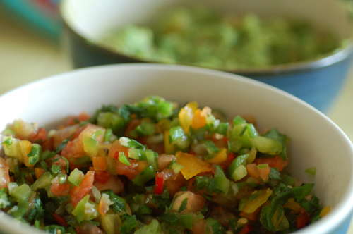 Homemade Salsa and Guac